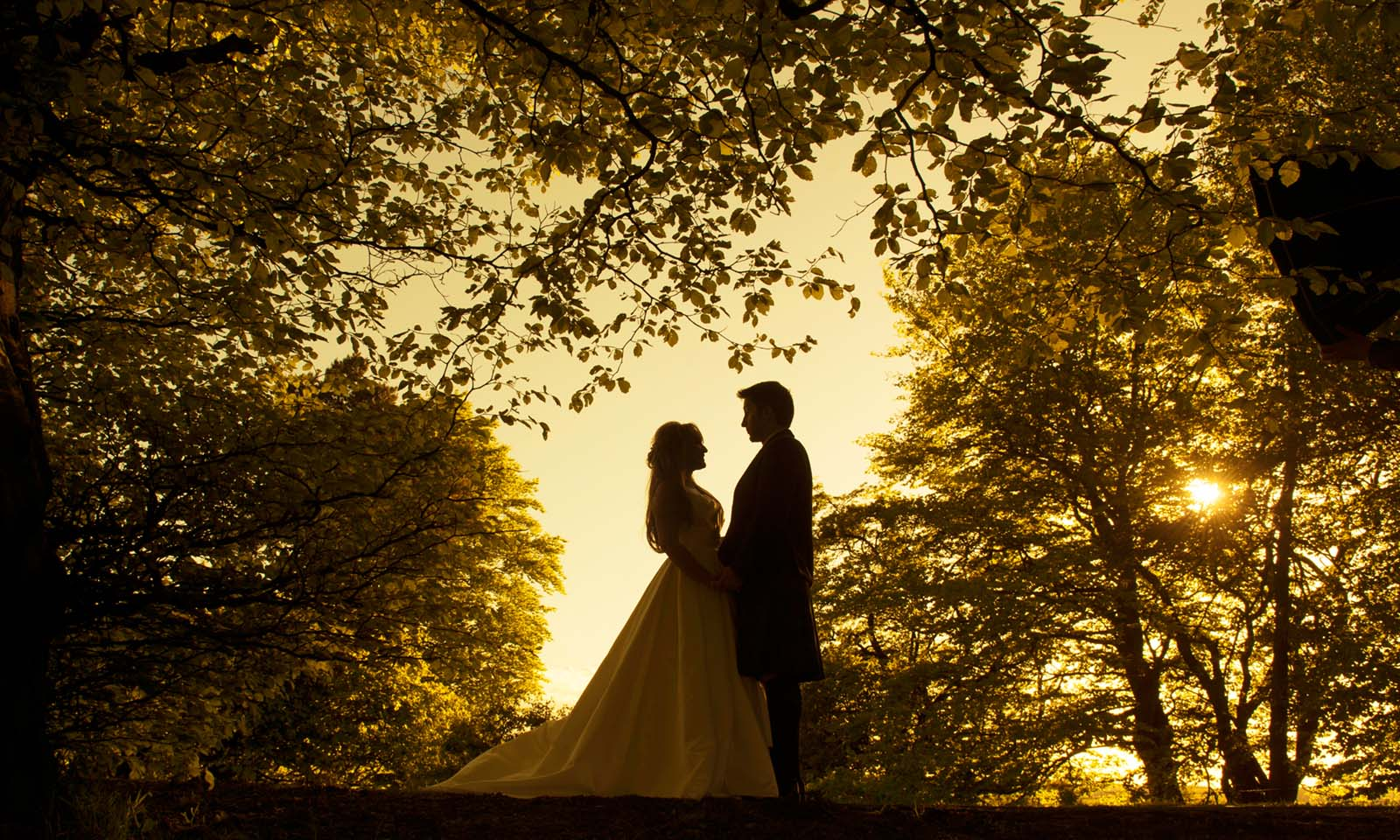 Sunset scotland wedding, Lochside House Hotel