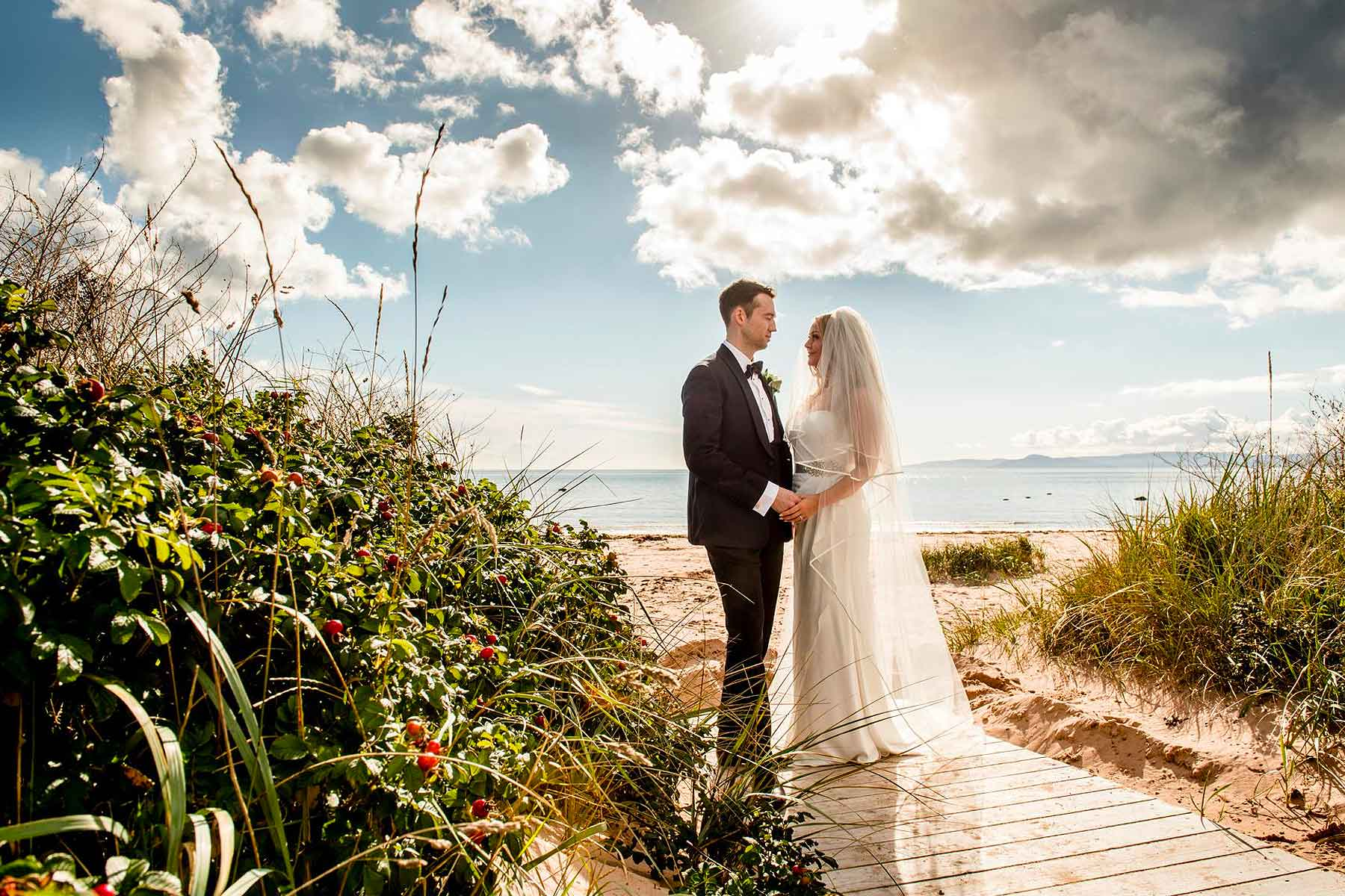 Jade and Steven's Waterside Wedding