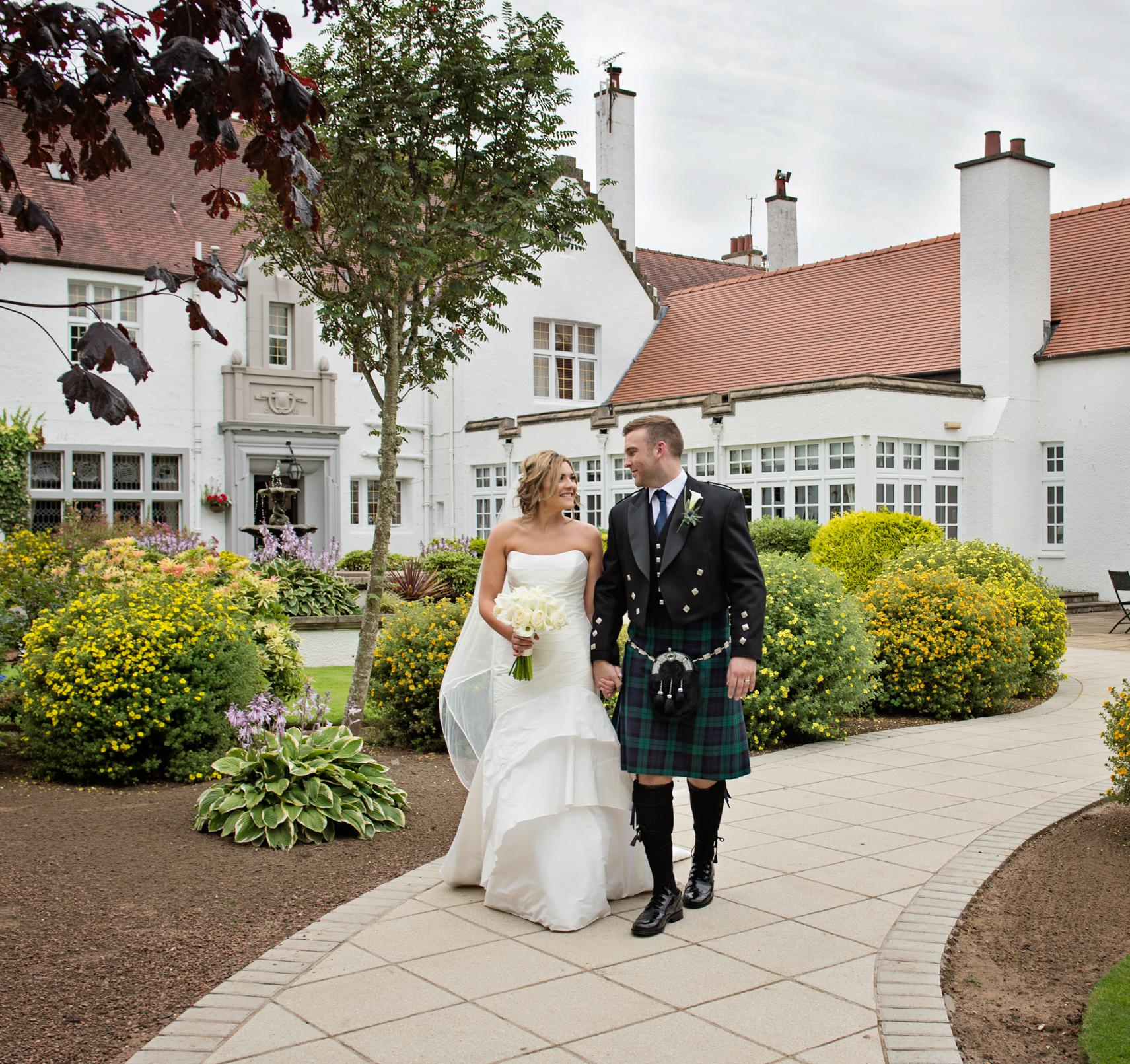Lochgreen House Hotel wedding photographer