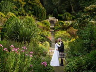 Walled Garden, elopement at Glenapp