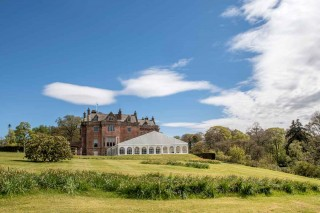 Wedding venue, Sorn Castle in Ayrshire