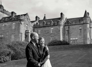 Glenapp Castle choice in Scotland for elopement