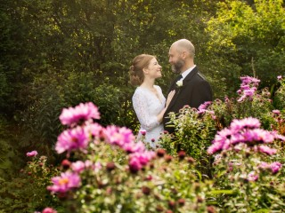 Bride and groom elopement to Glenapp Castle, Scotland